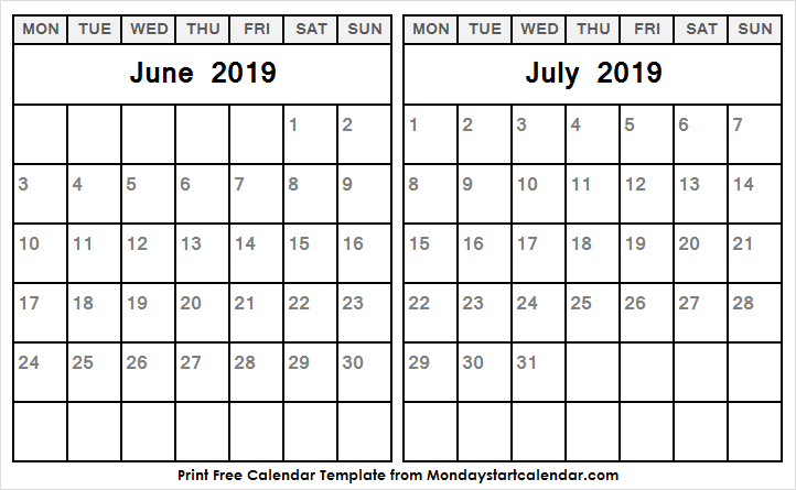 June And July 2019 Calendar.June And July 2019 Calendar United States Hd Pics Wallpapers Images